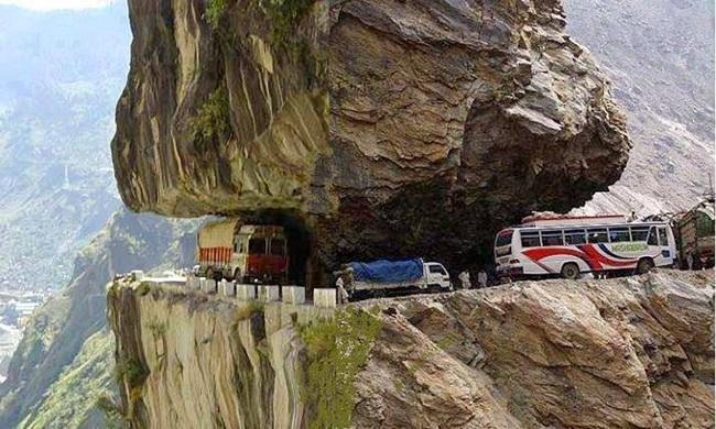 La Carretera del Karakórum en el sur de Asia