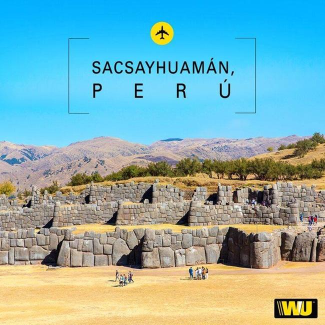 Sacsayhuamán es una fortaleza ceremonial inca
