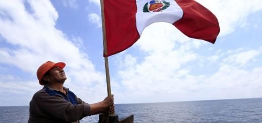 VIAJE AL TRIANGULO INTERNO , ZONA DEL MAR RECUPERADO CON EL FALLO DE LA HAYA  PROBLEMAS DE LA PESCA  ANCHOVETA  FOTO : ROLLY REYNA/ EL COMERCIO PERU