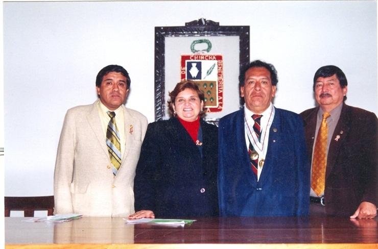 FIDEL ALCÁNTARA LÉVANO FUE DECLARADO CIUDADANO ILUSTRE EN  CHINCHA SU TIERRA NATAL