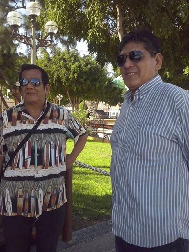 Maguila y Herson en Nasca 1111
